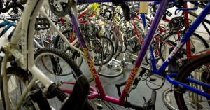 Barnvagnsparkering & Cykelrum