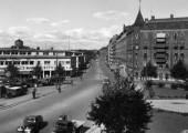 Odinsplatsen omkring 1940 <br>Inskickat av  Björn Hammargren