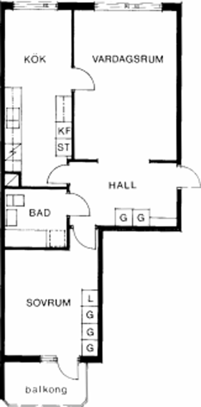 Typ:27 , 62,2 m²