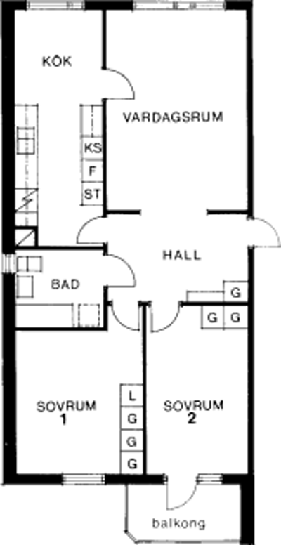 Typ:29 , 76,8 m²