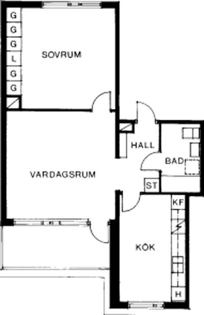 Typ:36 , 62,5 m²