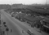Friggagatan 1938 Innan funkishusen. Inskickat av Ingvar Hansson
